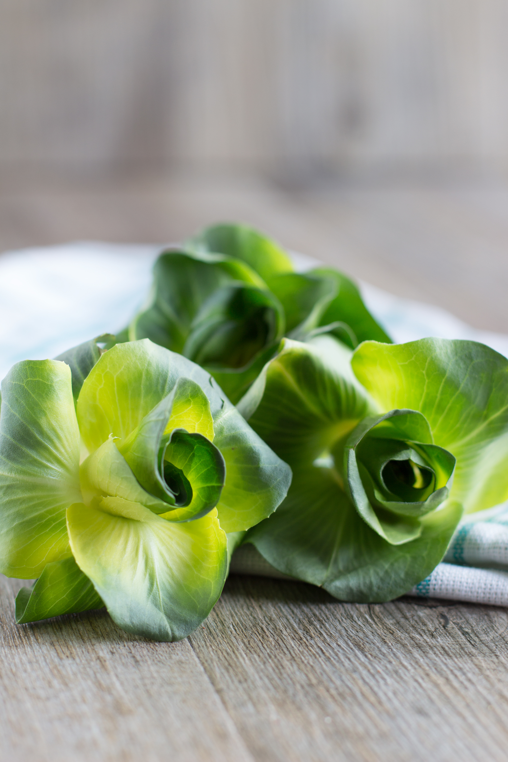 Torta salata light con farina di Kamut e asparagi gratinati e cicorino #vegan