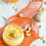 Orange & Ginger Cashew Cream Frosting
