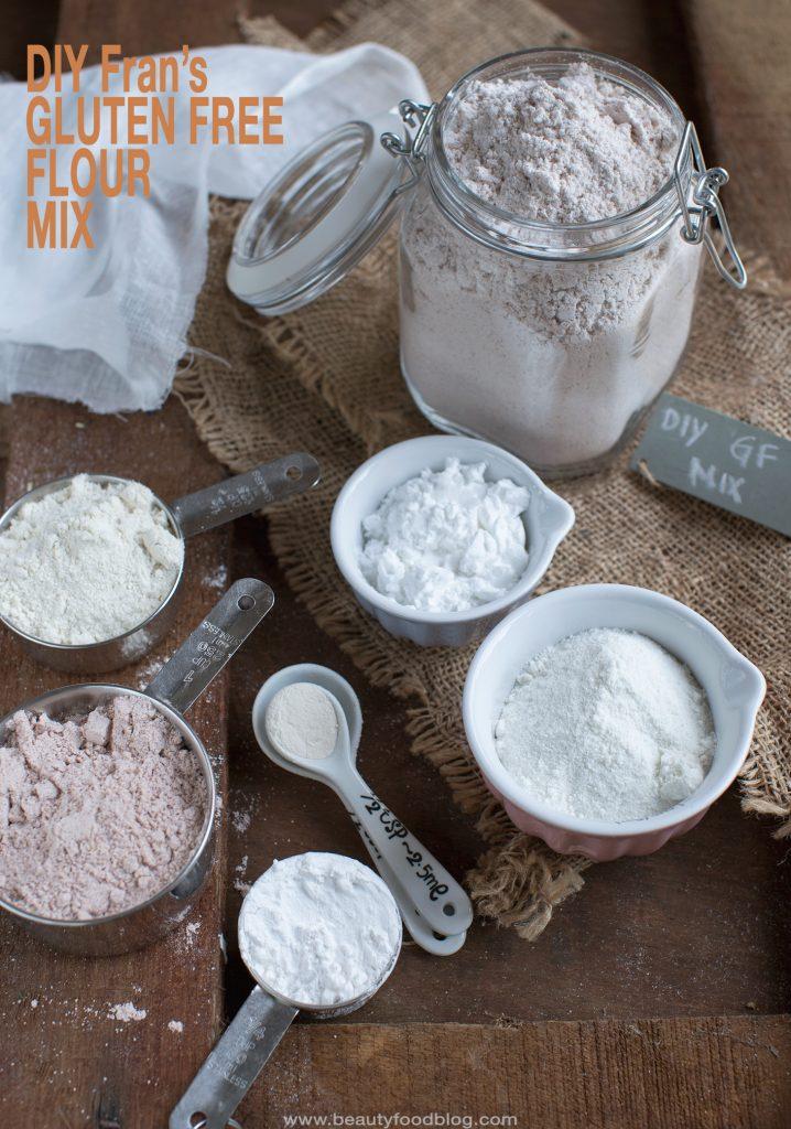Diy Gluten Free Flour Mix Beauty Food Blog