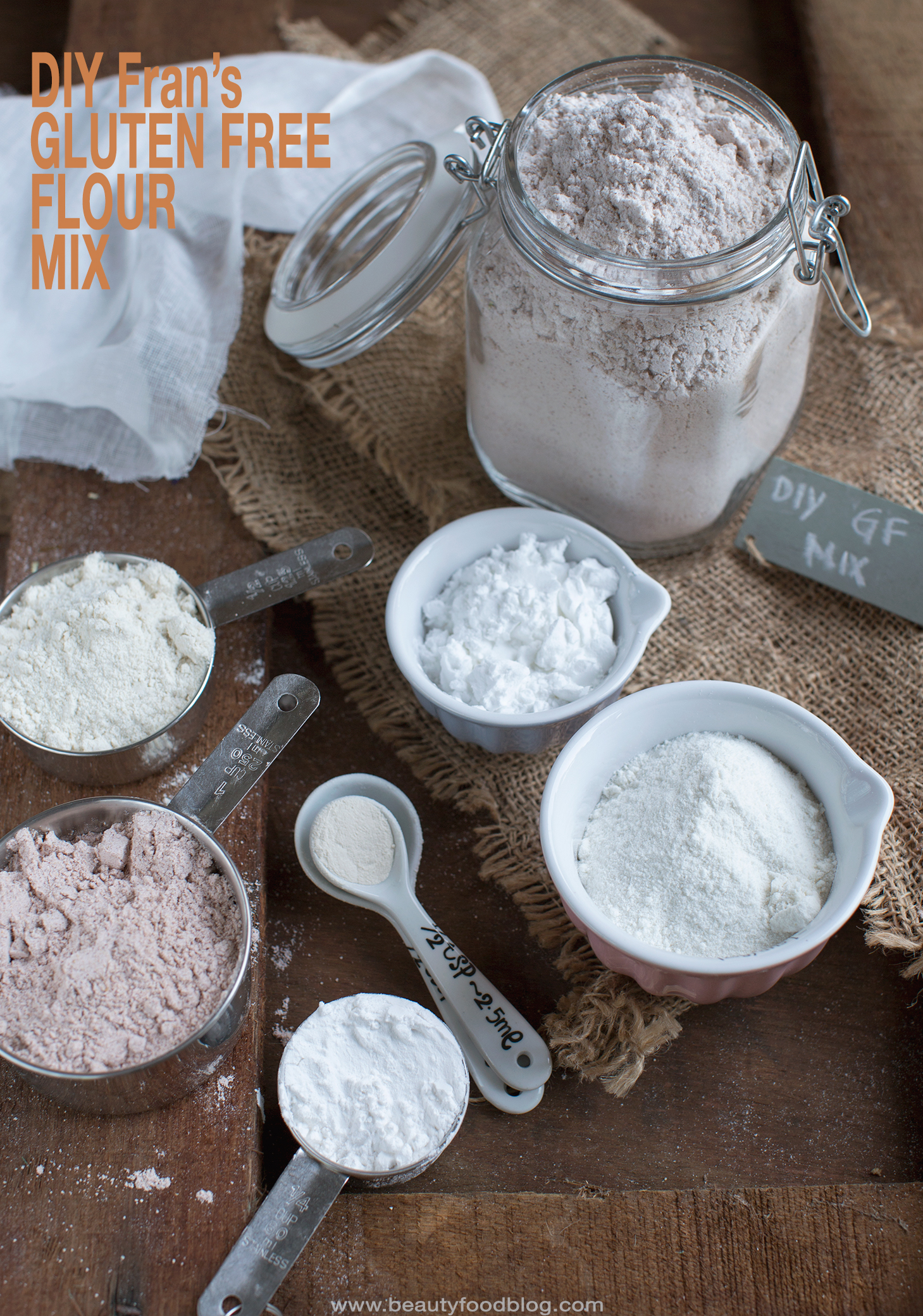 Diy Gluten Free Flour Mix Beauty Food Blog