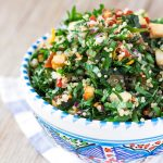 Amazing Vegan Glutenfree QUINOA TOFU TABBOULEH with marinated tofu|Insalata di prezzemolo e quinoa | Tabbouleh di quinoa e tofu con zenzero e peperoncino vegan #senzaglutine