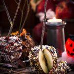 MELE al CARAMELLO di DATTERI per Halloween con CIOCCOLATO | Vegan GF