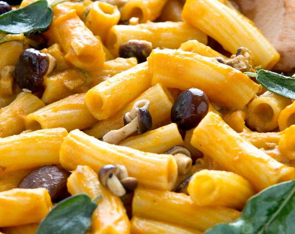 Vegan Pumpkin Mac & Cheese #glutenfree / Pasta Mac & cheese vegan Ricetta senza glutine alla zucca