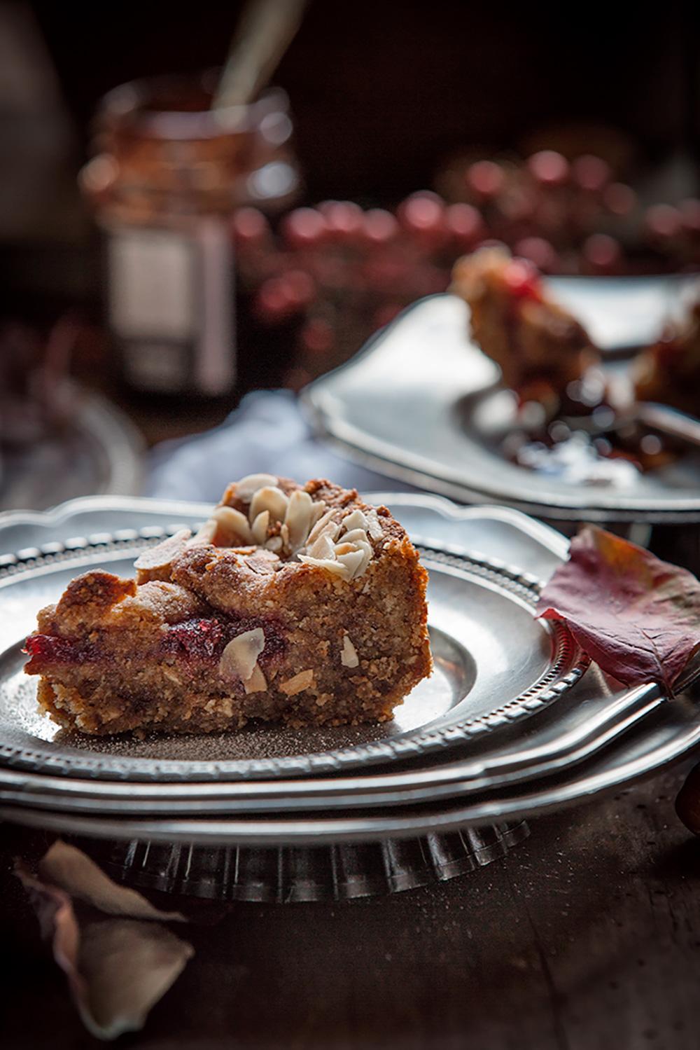 Vegan #LINZER TORTE torta linzer vegan senza glutine - the best #vegan #glutenfree linzer torte Christmas #almond #hazelnut