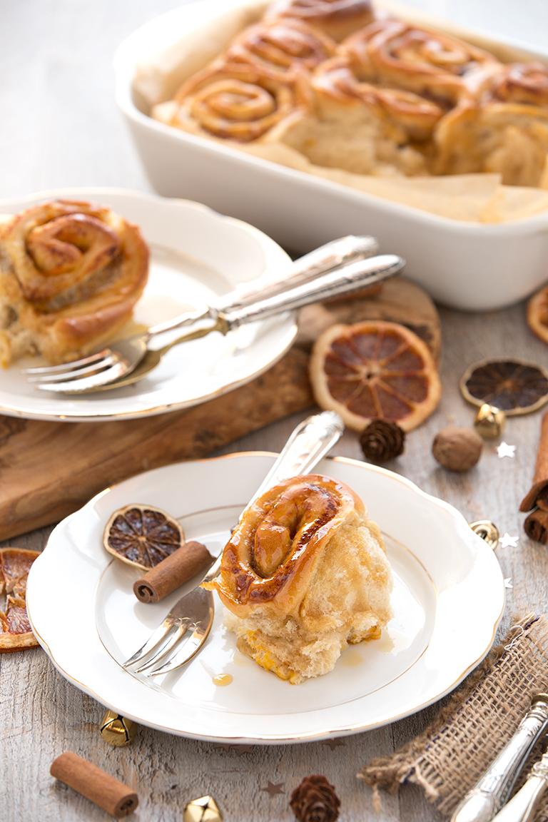 Easy #vegan #pumpkin cinnamon rolls | #cinnamon rolls vegane senza burro senza uova senza latticini dietetiche facili