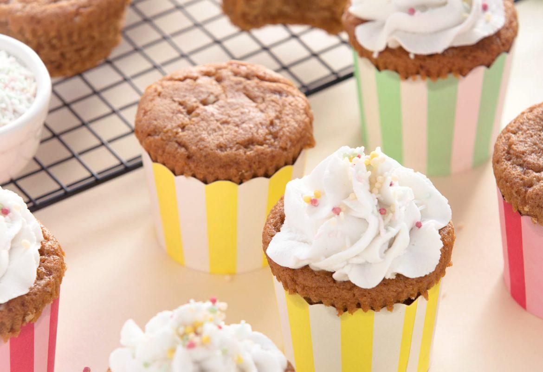 vegan glutenfree funfetti cupcakes #healthy #vegan #glutenfree