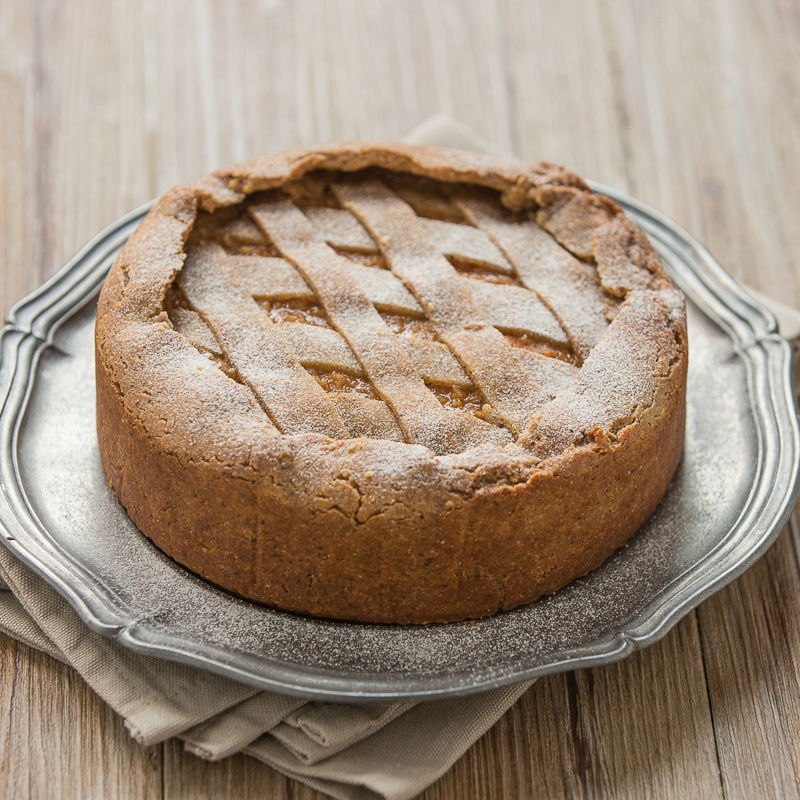 vegan buckwheat yogurt tart #glutenfree #vegan #crostata recipe with vanilla and millet ricetta pastiera vegan senza glutine crostata vegan senza glutine al grano saraceno e yogurt