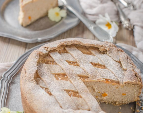 vegan glutenfree buckwheat yogurt tart #vegan #crostata recipe with vanilla and millet ricetta pastiera vegan senza glutine crostata vegan senza glutine al grano saraceno e yogurt