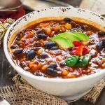 Healthy and simple #vegan black bean #chili recipe #glutenfree | 30 minutes full of flavor | Ricetta CHILI vegano con fagioli neri. Zuppa di fagioli neri alla messicana #vegan #senzaglutine.
