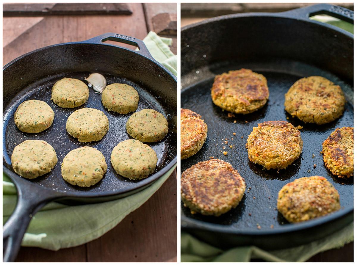 vegan baked falafel recipe how to make the perfect baked falafel or fried falafel #vegan #glutenfree :ricetta falafel al forno falafel in padella facili e veloci