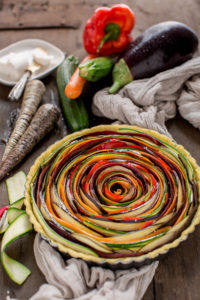 vegan #glutenfree #vegetable spiral tart - Torta salata di verdure a spirale senza glutine senza uova senza burro #vegan