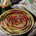 vegan #glutenfree vegetable spiral tart recipe | ricetta torta salata di verdure a spirale senza glutine #vegan con strachicco verys