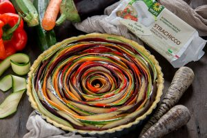 vegan #glutenfree vegetable spiral tart recipe | ricetta torta salata di verdure a spirale senza glutine vegan con strachicco verys