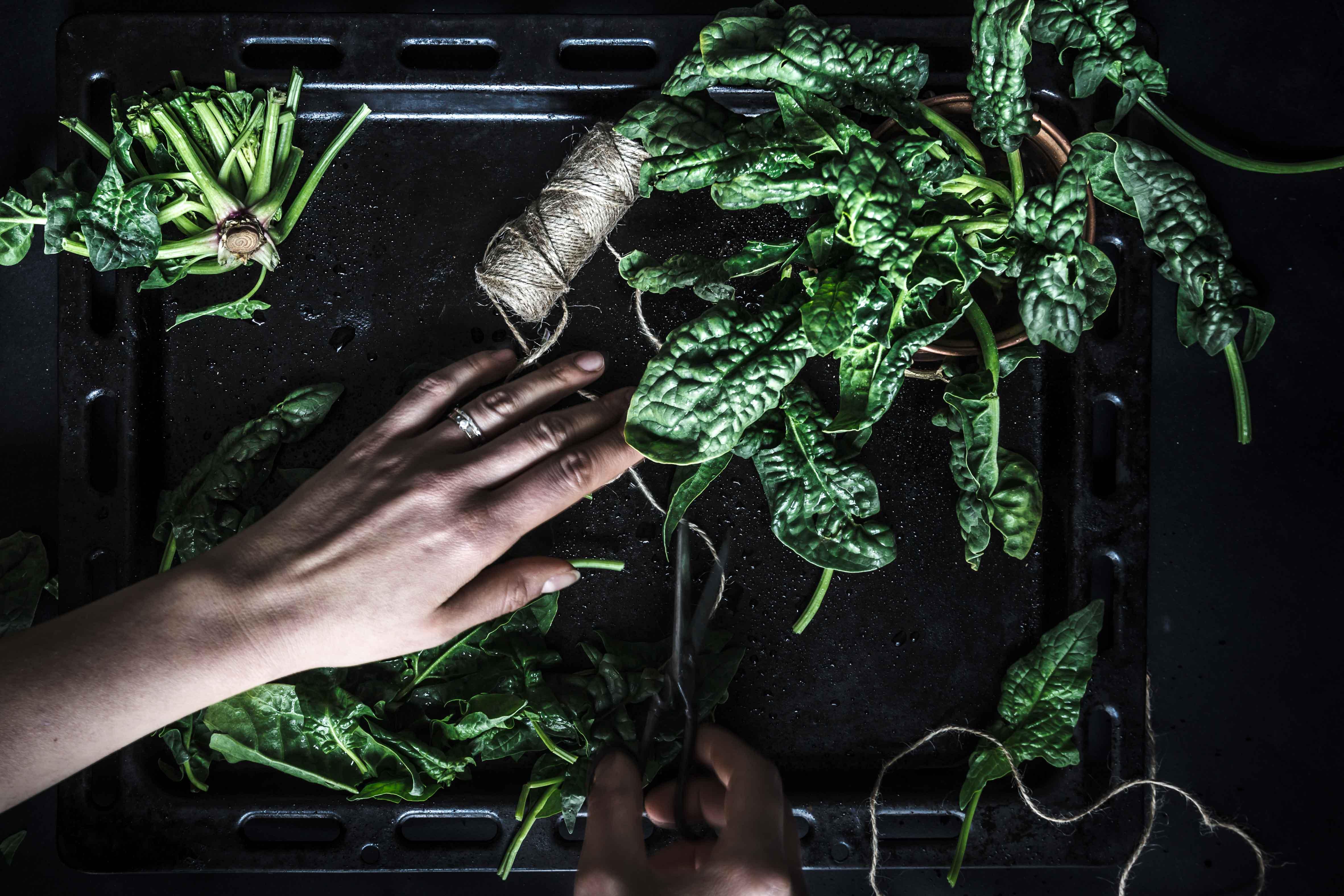 eggless vegan glutenfree spinach tofu quiche recipe - ricetta torta salata spinaci e tofu vegan senza glutine senza uova- spinaci food phptpgraphy