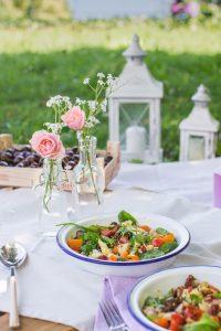 insalata di quinoa - vegan mediterranean quinoa salad