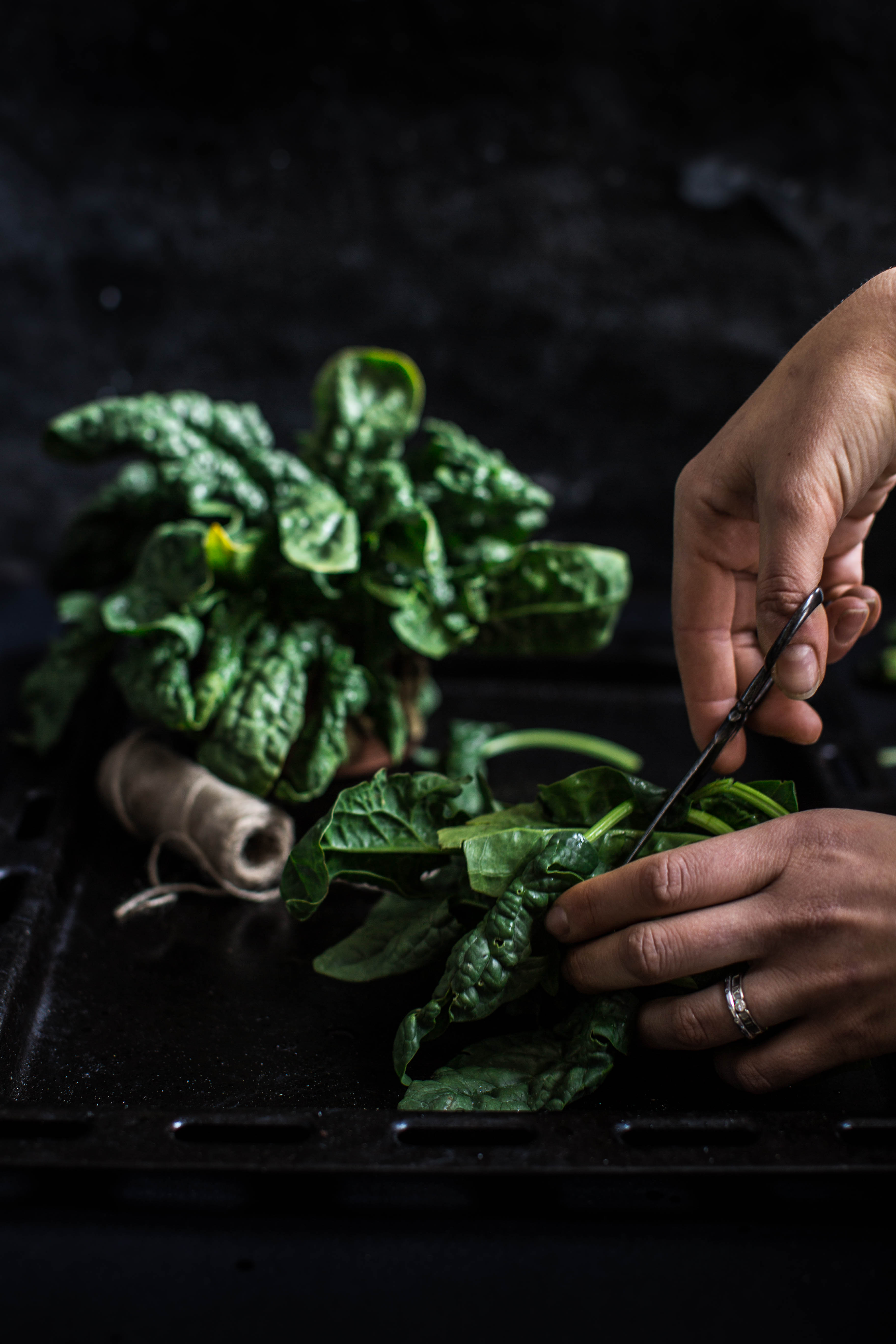 vegan glutenfree spinach tofu quiche recipe - ricetta torta salata spinaci e tofu vegan senza glutine senza uova- food photography beauty food blog