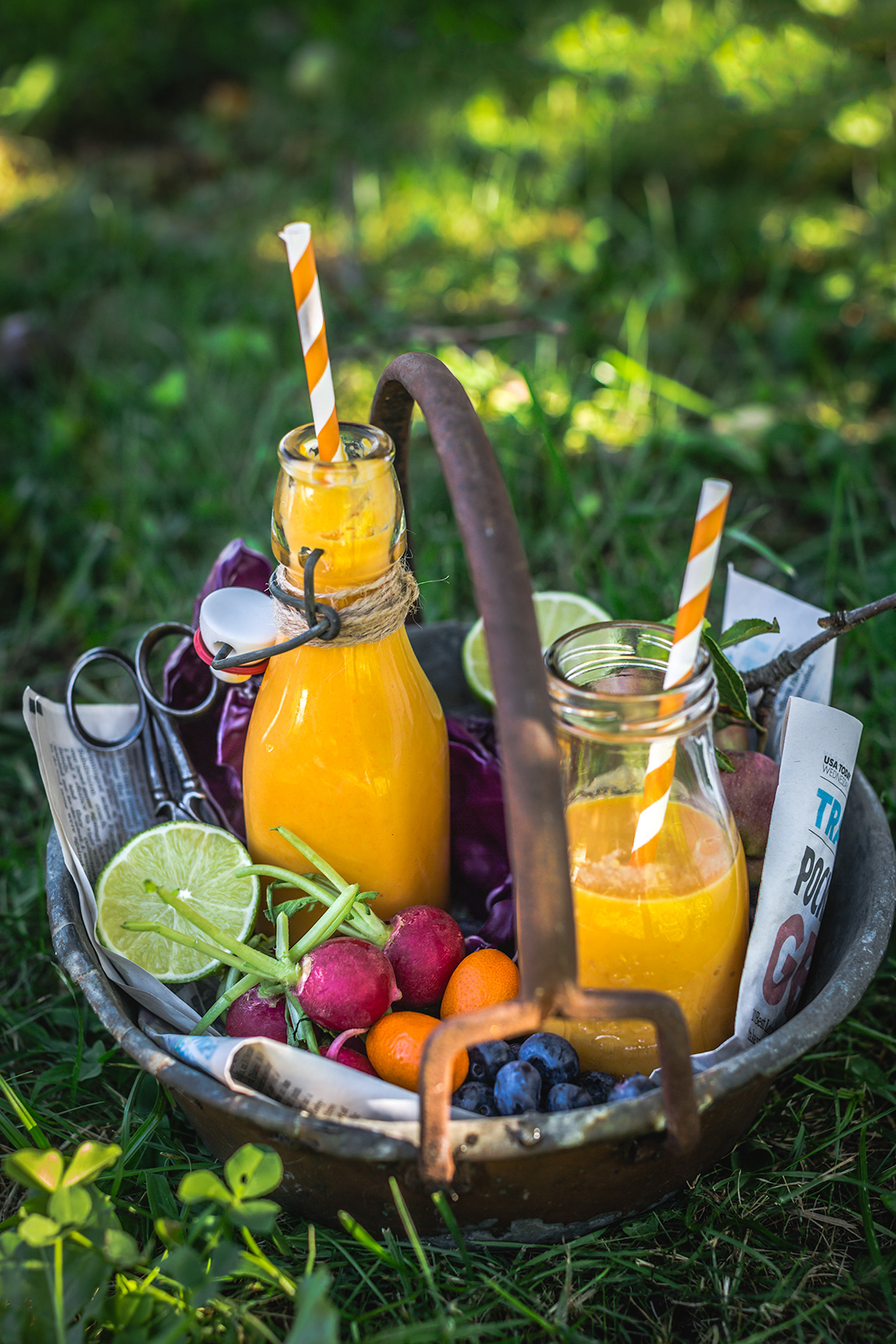 Tropical CARROT turmeric SMOOTHIE | smoothie carote e curcuma trpicale smoothie abbronzante