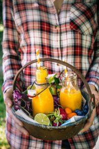 anti inflammatory CARROT turmeric tropical SMOOTHIE | tropical smoothie carote e curcuma e melone