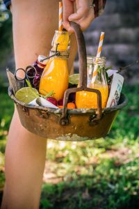 antioxidant Tropical carrot TURMERIC SMOOTHIE for glowing skin | smoothie carote e curcuma e melone #vegan abbronzante