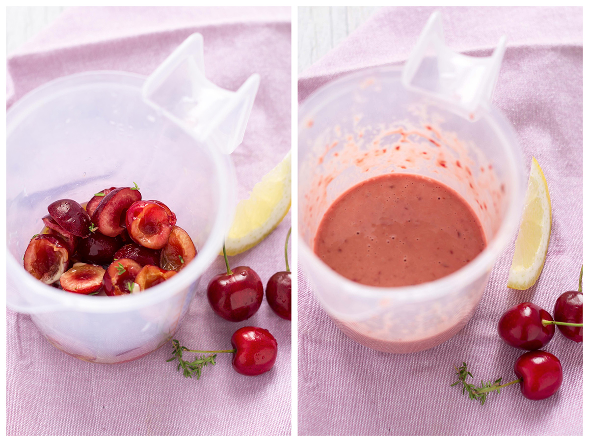 insalata di quinoa e ciliegie dressing- balsamic cherry quinoa salad dressing
