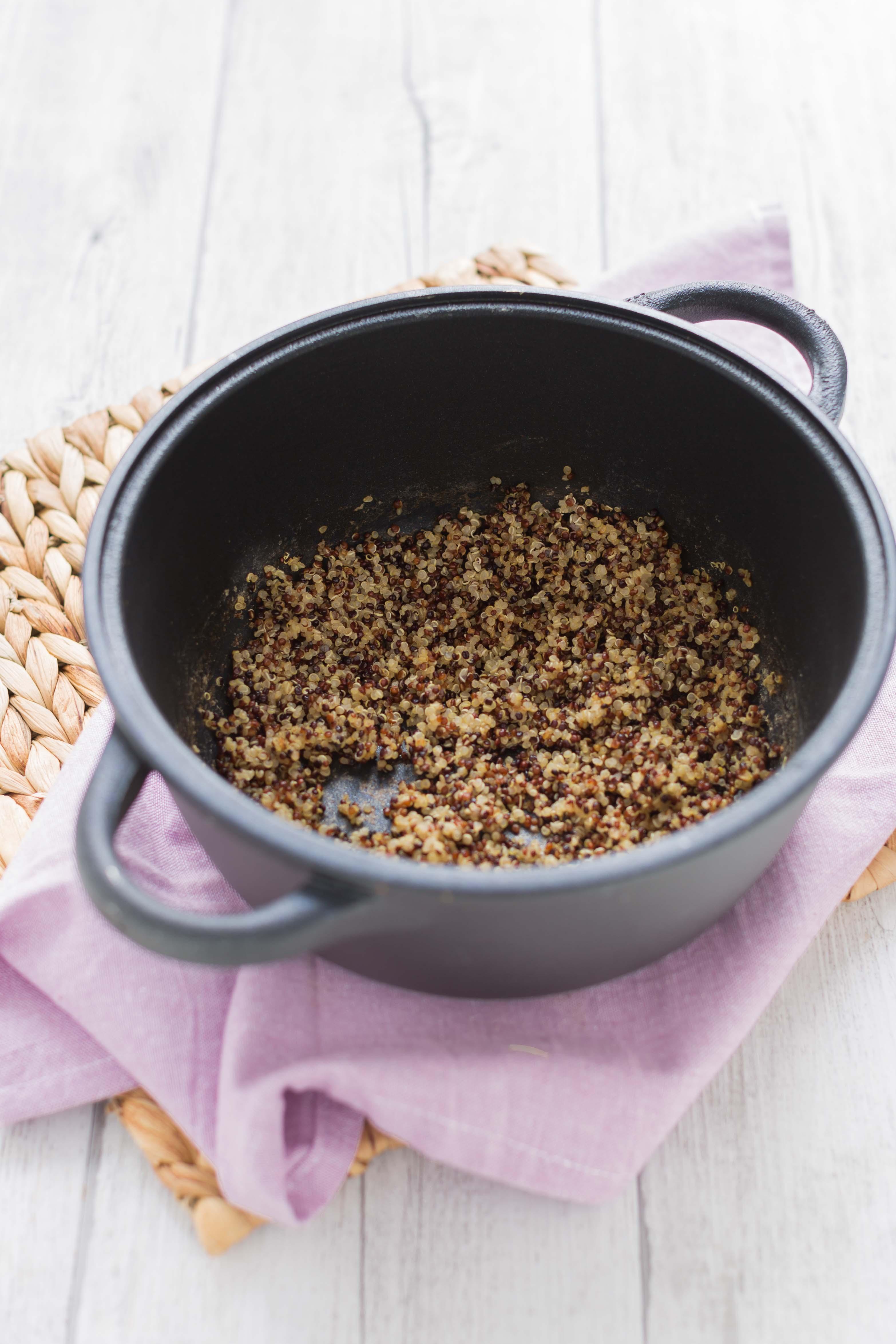 insalata di quinoa e ciliegie roasted balsamic quinoa salad how to make
