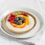glutenfree vegan fresh fruit yogurt tart recipe - ricetta crostata allo yogurt e frutta fresca vegan senza glutine