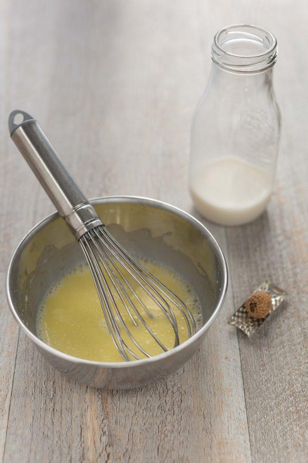 gnocchi alla barbabietola senza glutine senza uova con besciamella di latte alla nocciola, aceto balsamico e nocciole tostate| vegan glutenfree beetroot gnocchi