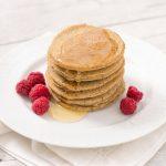 pancakes light senza uova senza burro senza glutine con farina grano saraceno e riso pancakes vegan senza glutine - vegan glutenfree pancakes