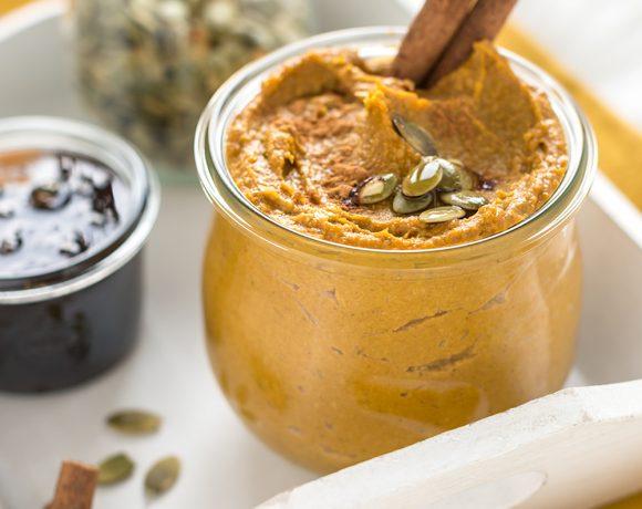 BURRO di ZUCCA, SEMI di ZUCCA e CANNELLA – Pumpkin cinnamon butter (senza burro)