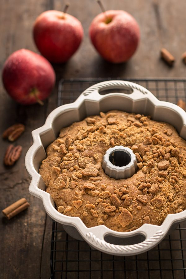 come preparare le torta di mele senza glutine vegan alla cannella - how to make vegan glutenfree apple cake