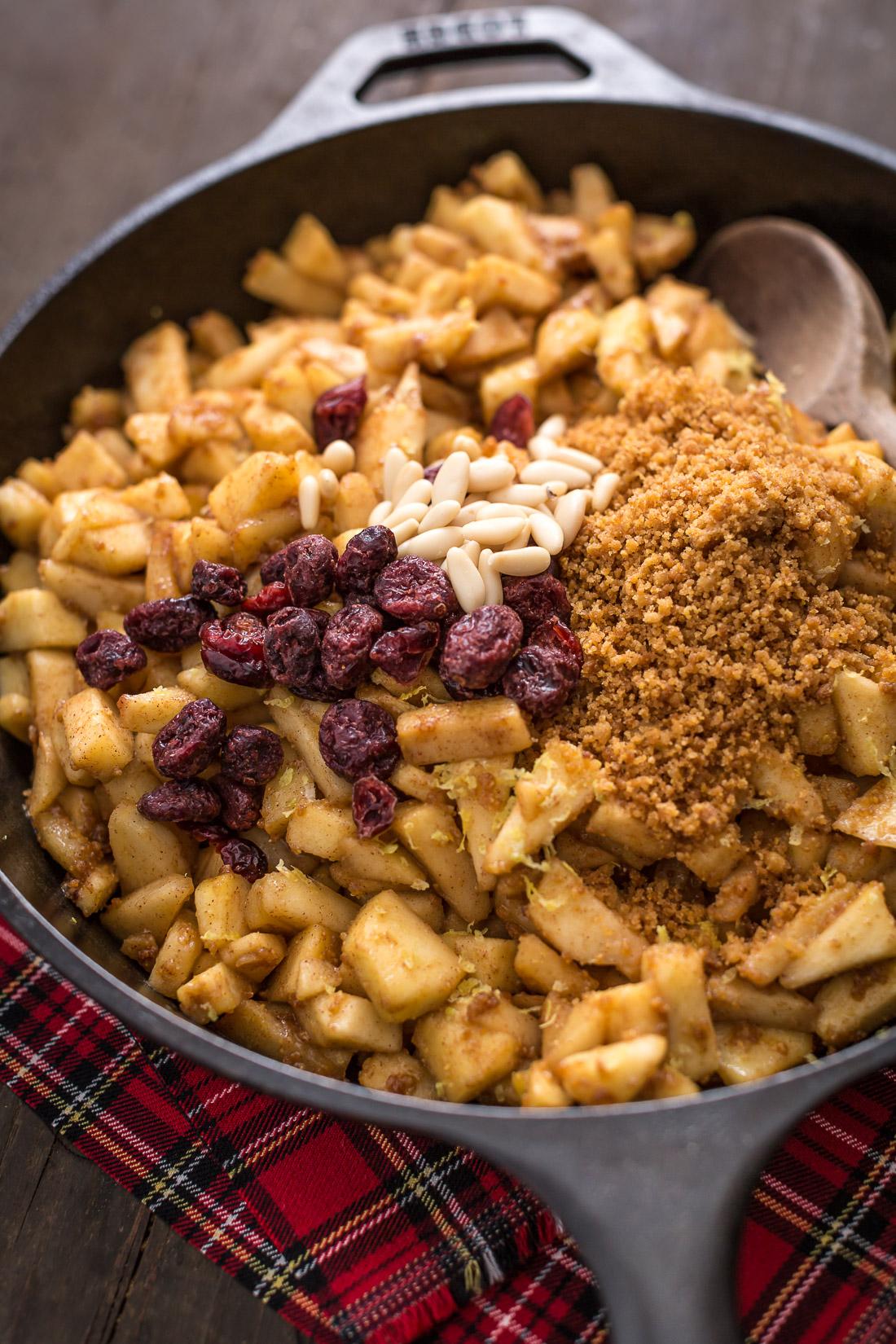 Vegan apple strudel recipe Ricetta Strudel di mele vegan senza uova senza burro come fare