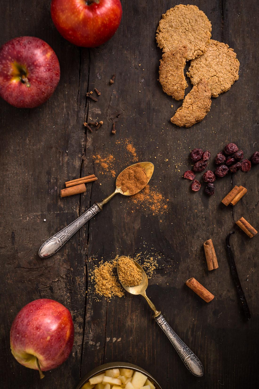 Vegan apple strudel recipe Ricetta Strudel di mele vegan senza uova senza burro ingredienti