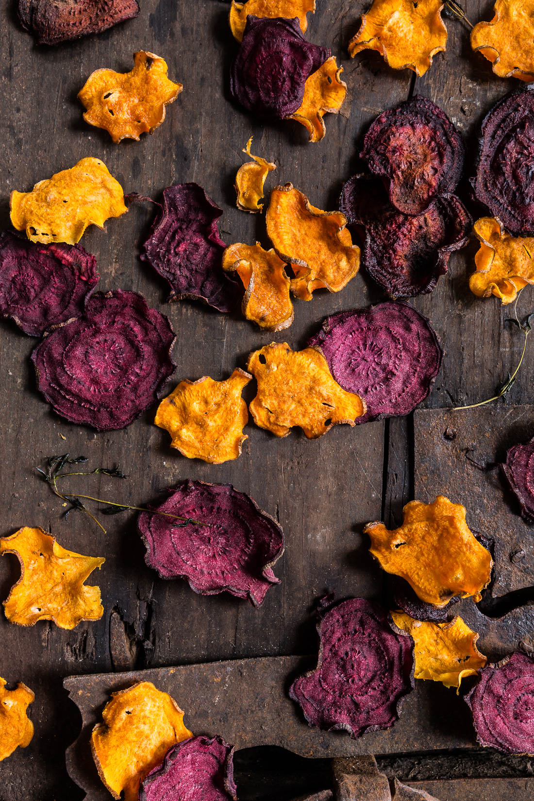 ricetta chips di barbabietola e patate dolci Hummus alla zucca con - pumpkin hummus recipe with beet and sweet potato chips