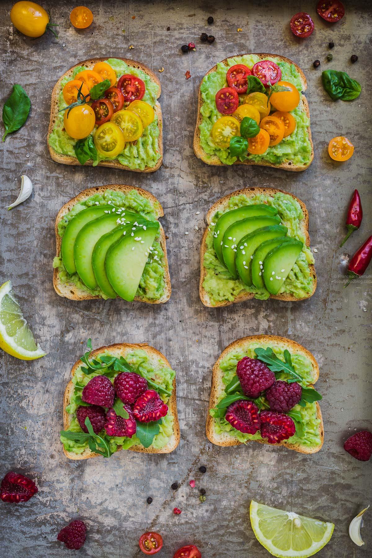 glutenfree vegan avocado toast recipe - ricetta avocado toast vegan senza glutine
