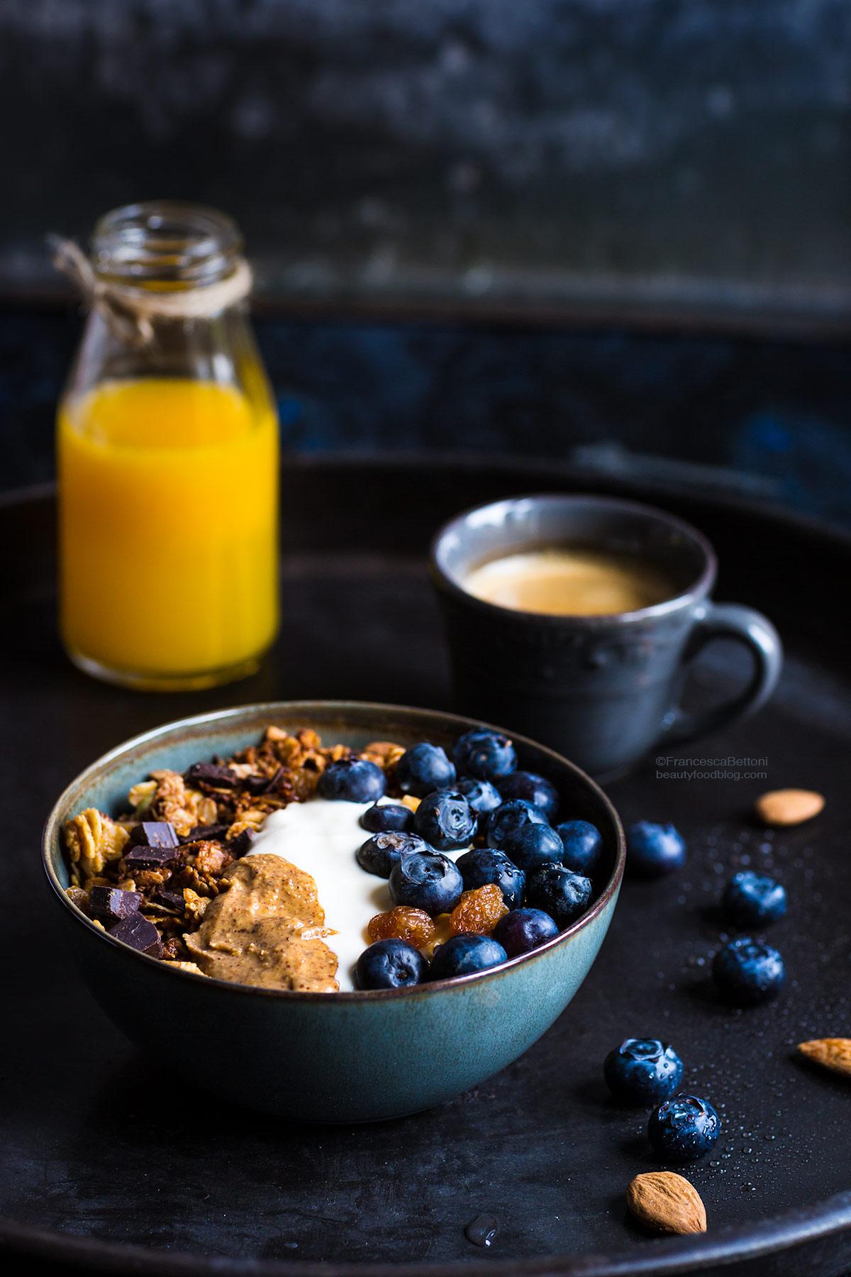 #glutenfree vegan chocolate coconut almond granola #crunchy - granola vegan cioccolato cocco e mandorle croccante senza glutine sciroppo d'acero