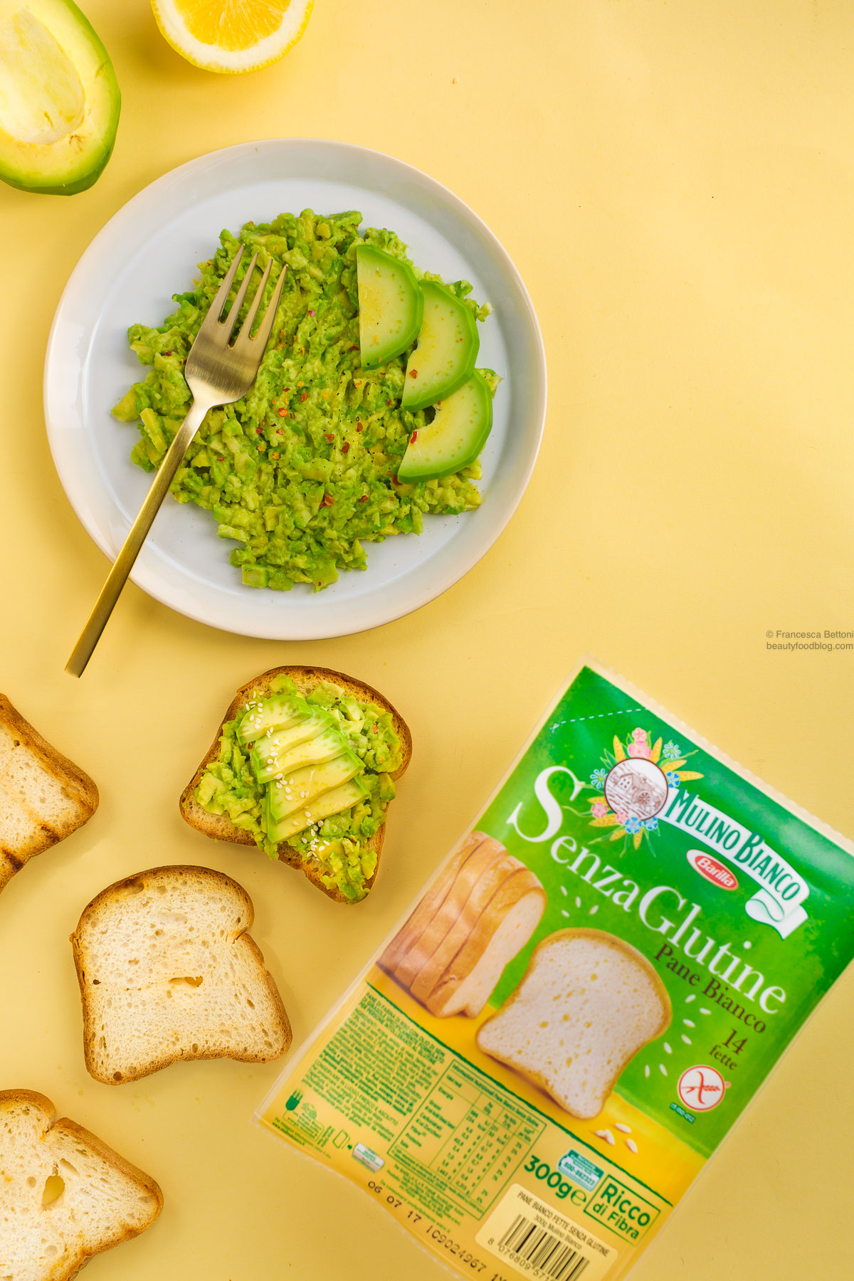ricetta avocado toast vegan senza glutine ricetta facile - glutenfree vegan avocado toast recipe