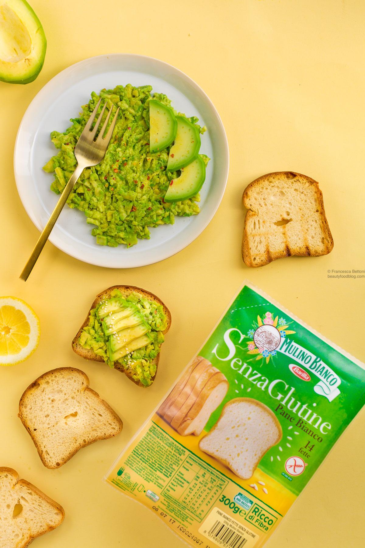ricetta avocado toast vegan senza glutine ricetta veloce - glutenfree vegan avocado toast recipe