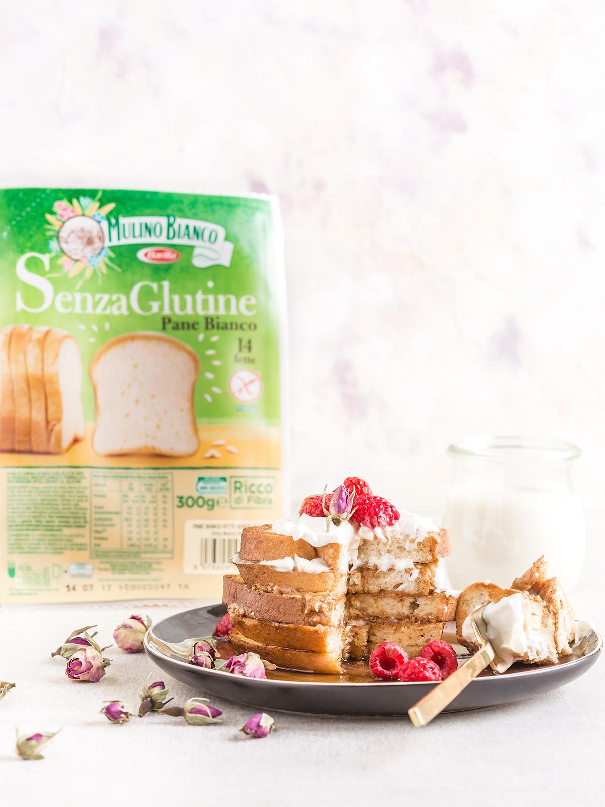 #VEGAN #glutenfree FRENCH TOAST recipe - ricetta FRENCH TOAST vegan #senzaglutine alla vaniglia in padella e al forno