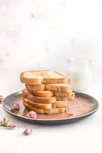 #vegan #glutenfree FRENCH TOAST with coconut whipped cream - FRENCH TOAST VEGAN SENZA GLUTINE alla vaniglia