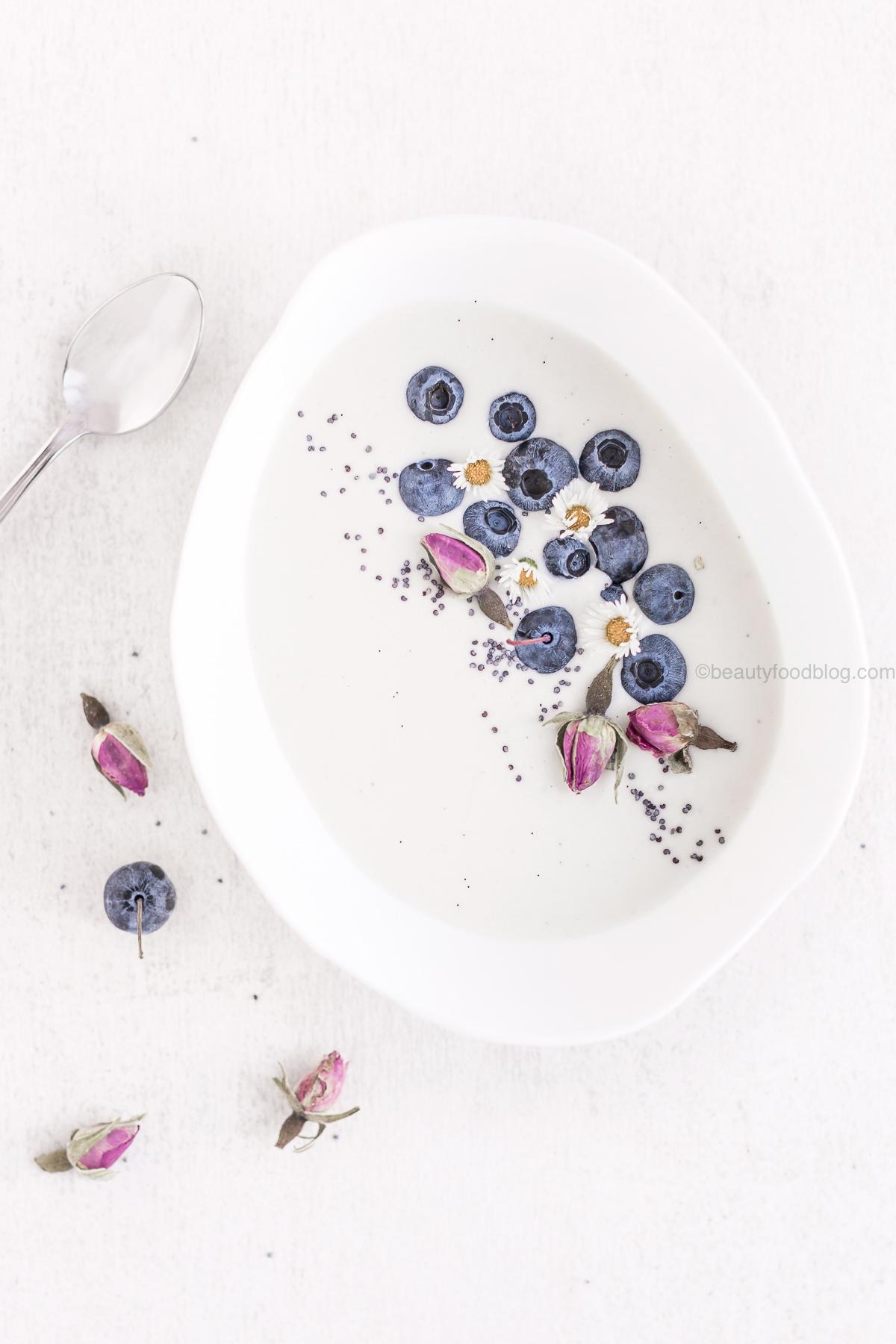 how to make homemade vegan cashew yogurt no yogurt maker no soy - ricetta yogurt vegan fatto in casa senza yogurtiera raw agli anacardi o mandorle