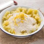 GNOCCHI AL LIMONE senza uova con pesto di piselli #vegan senza glutine - VEGAN LEMON #GNOCCHI with PEA PESTO how to make