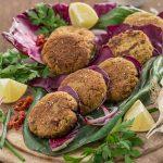 how to easy VEGAN BAKED FALAFEL recipe with sun dried tomato #falafel #glutenfree #vegan | ricetta #falafel al forno o falafel in padella facili e sani #vegan #senzaglutine