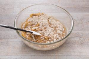 torta di mele vegan all'arancia light farro integrale - easy vegan apple cake refined sugar free whole spelt flour step by step