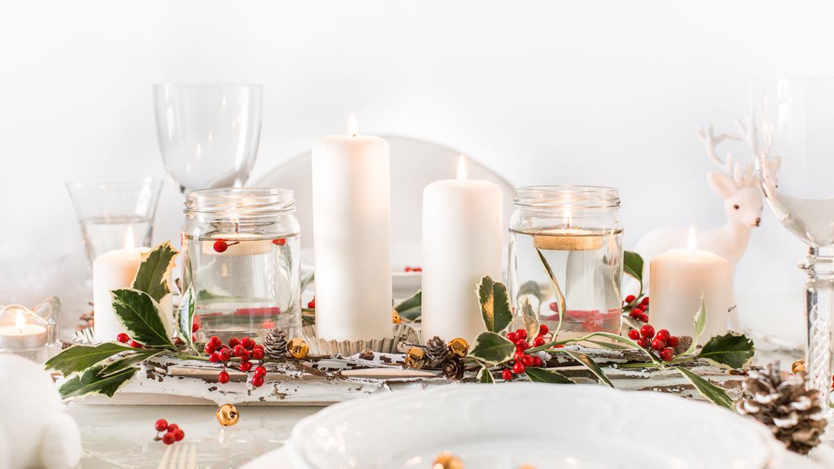 Decorazioni Tavola Natale Fai Da Te : Centrotavola di natale fai da te beauty food