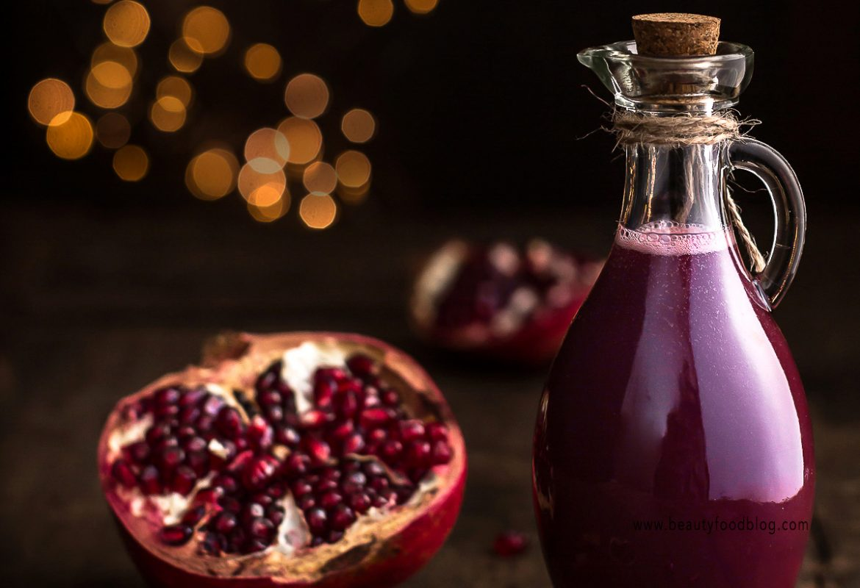 ricetta sciroppo alla melagrana idea regalo per Natale speziato fatto in casa - homemade DIY #gift #pomegranate #syrup #christmas