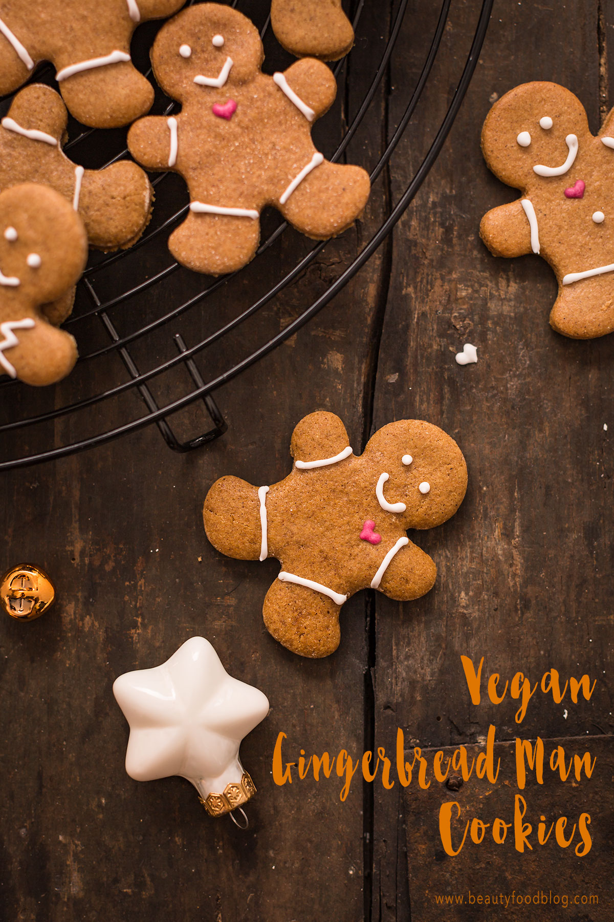 vegan gingerbread man recipe vegani - ricetta biscotti pan di zenzero vegani croccanti leggeri e friabili #vegan gingerbread senza burro