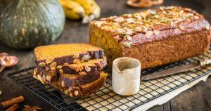 vegan glutenfree pumpkin banana bread banana bread alla zucca vegan senza glutine
