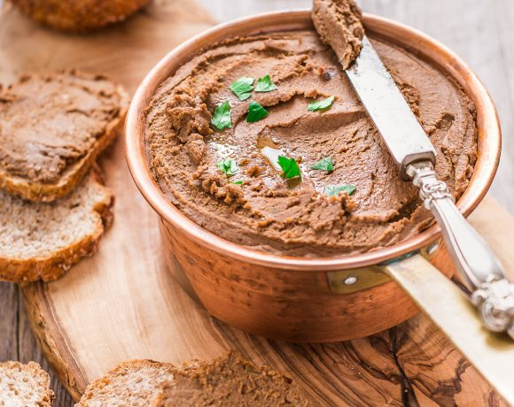 mushroom walnut #lentil #pate vegan glutenfree - ricetta pate di lenticchie e noci ai funghi con miso #vegan senza glutine