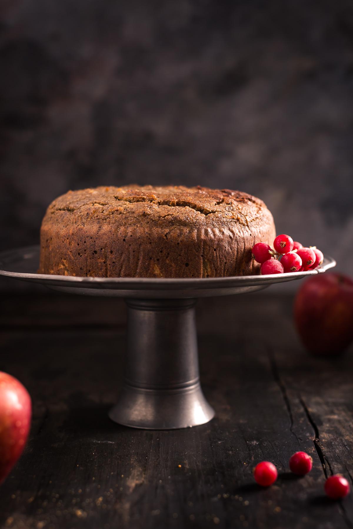 Torta Di Grano Saraceno Vegan Senza Glutine Alto Adige