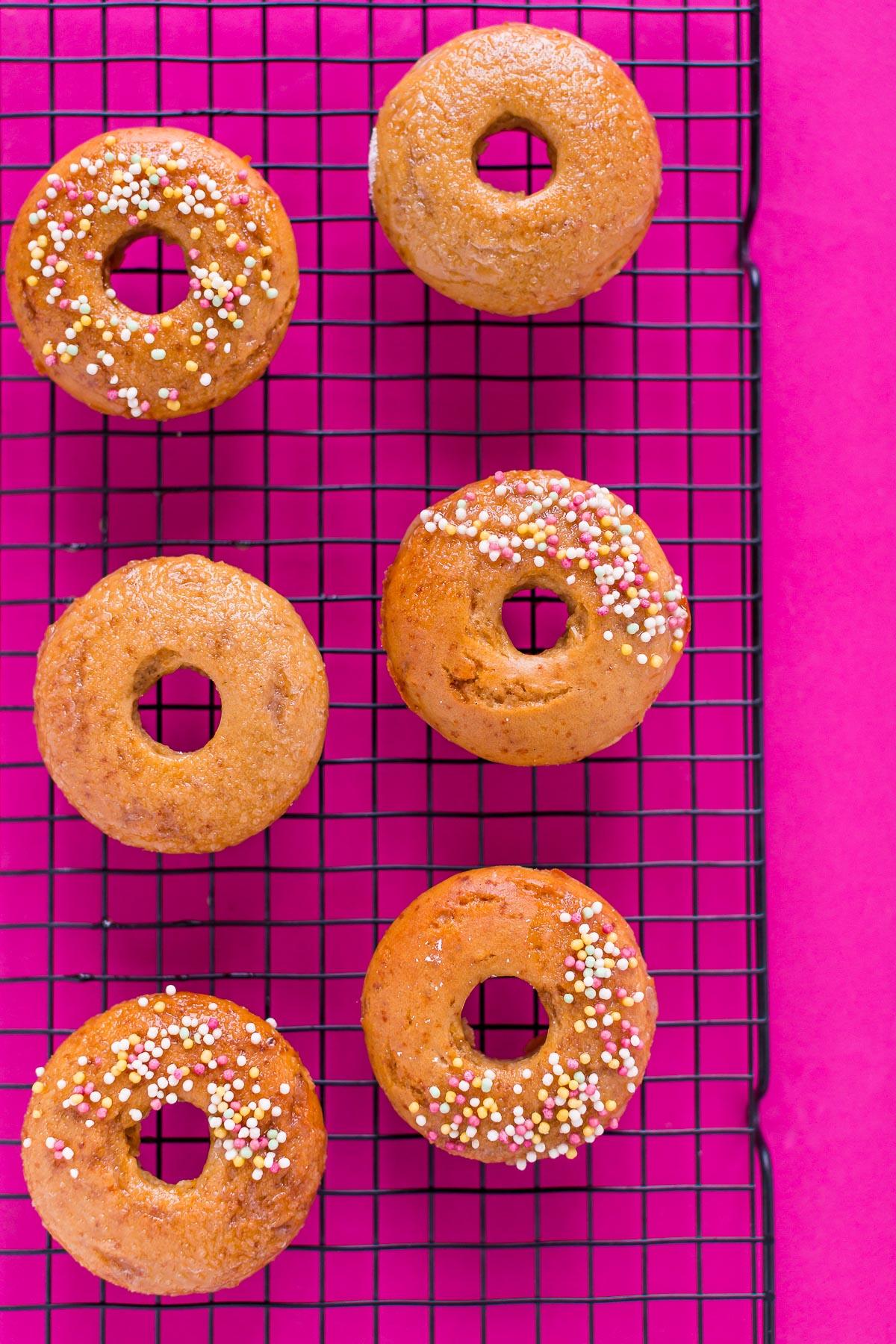 ricetta donuts al forno vegan senza glutine vegan glutenfree baked donuts recipe